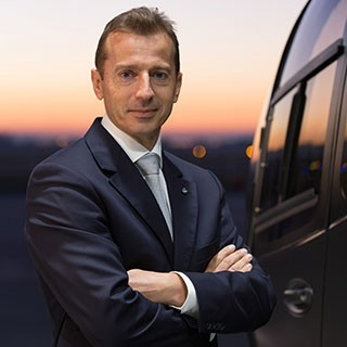 CEO Airbus Helicopters Гийом Фори