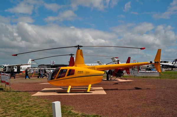 Что лучше: Robinson R44 или R66?