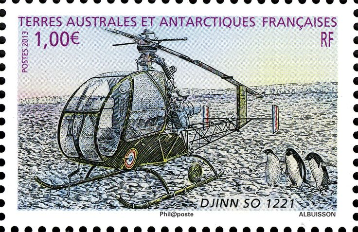 Djinn helicopter stamp