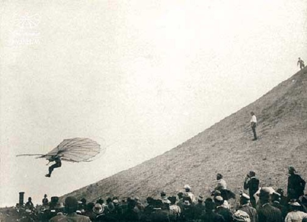 a paper on otto lilienthal the wright brothers and the invention of flying