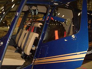 Мягкий топливный бак для легких вертолетов